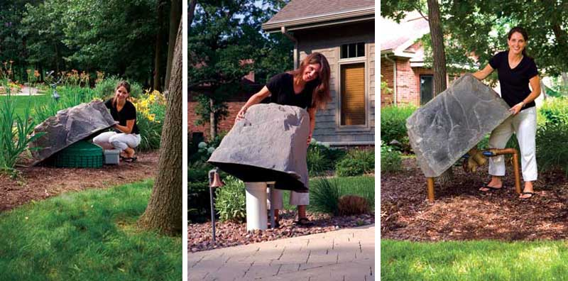 fake rocks for garden. Do You Have Something To Hide? Fake Rocks For Garden