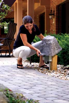 Canadian Fake Rocks Faux Rocks for landscaping Serving Cobourg