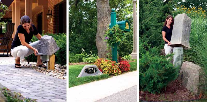 Canadian Fake Rocks, Faux Rocks For Landscaping, Serving Cobourg,  Belleville, Stirling, Kingston, Perth And Surrounding Areas